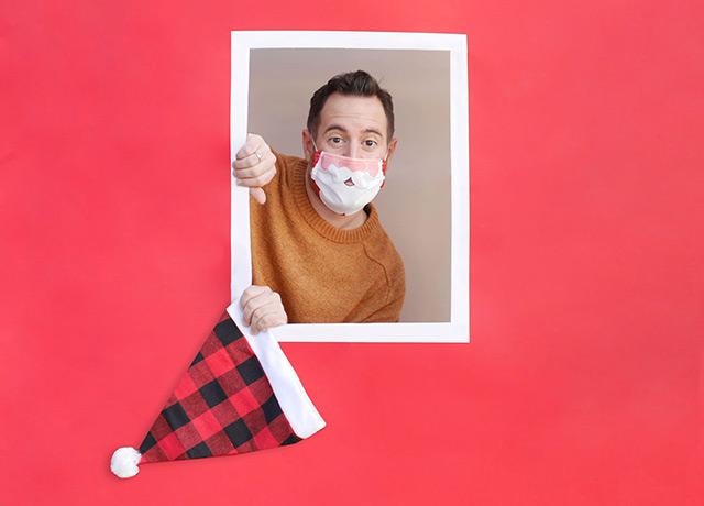 Mascarilla Papá Noel