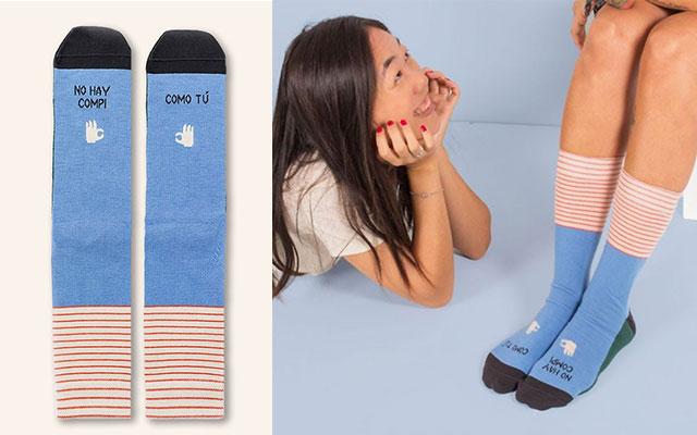 calcetines no hay compi como tú