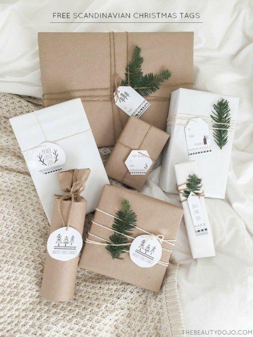 empaquetado regalo natural