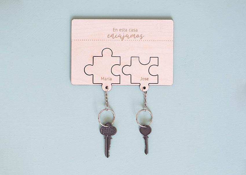 Cuelgallaves parejas puzzle
