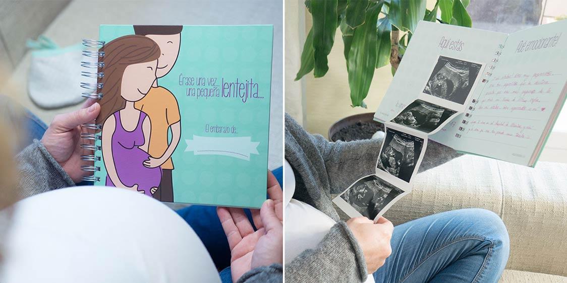 Libro recuerdos embarazo