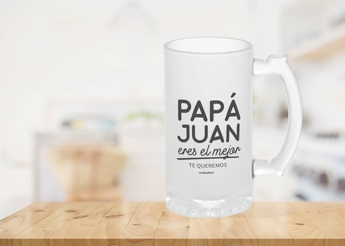 Jarra cerveza papá