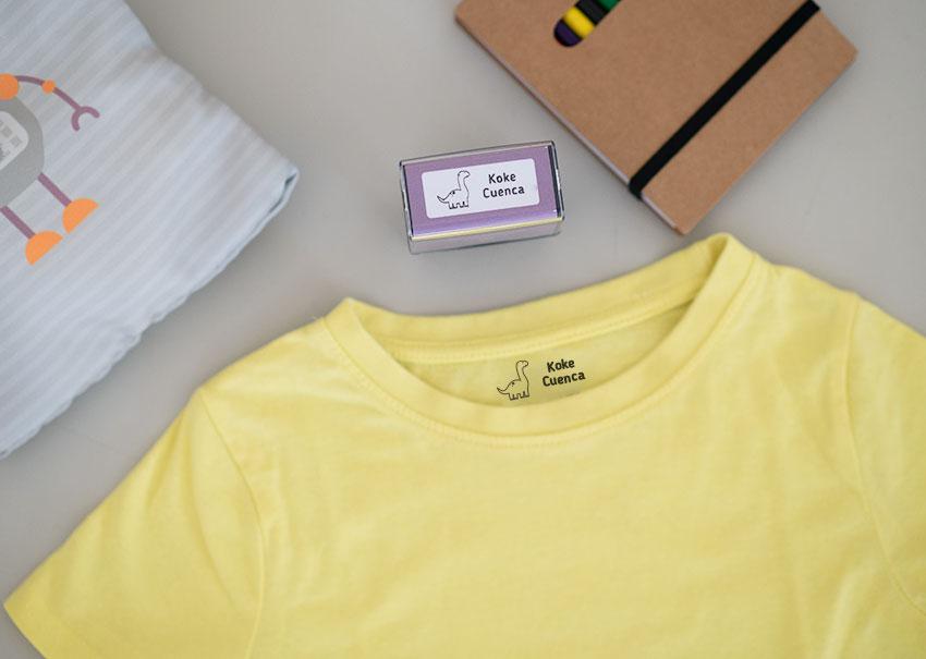 sello personalizado para ropa