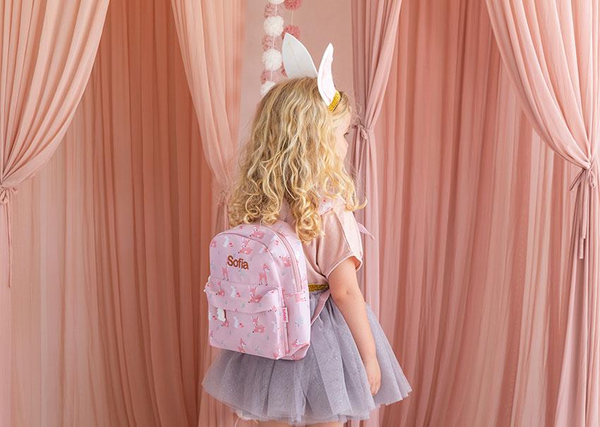 mochila infantil niña