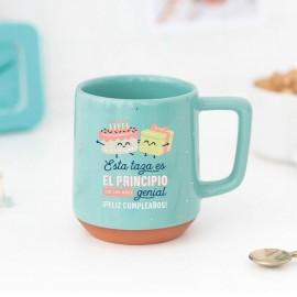 taza ideal para regalar en un cumpleaños