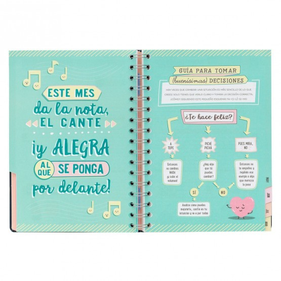 Interiores agenda Mr. wonderful