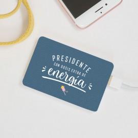 Batería móvil presidente