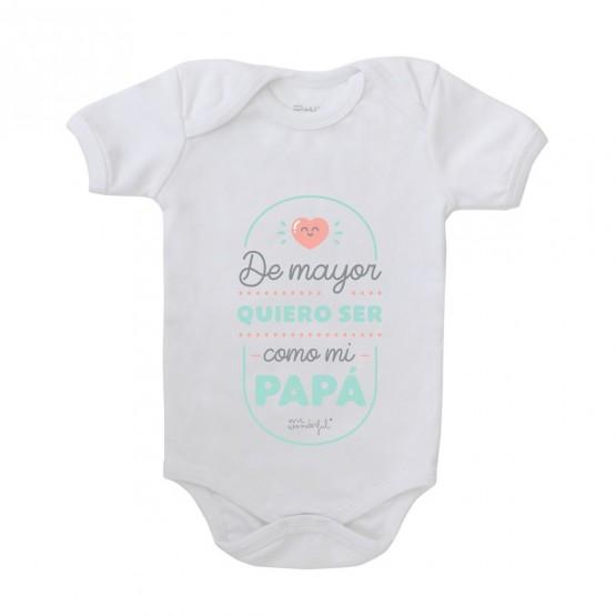 Body bebé con mensaje
