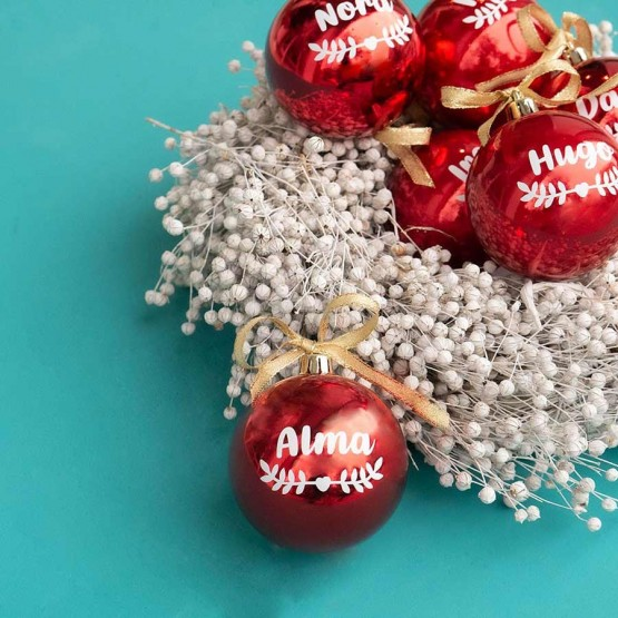 bola navideña personalizada