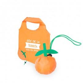 Bolsa compra naranja