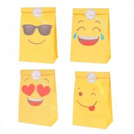 bolsa de papel emoticonos