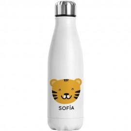 Botella acero tigre