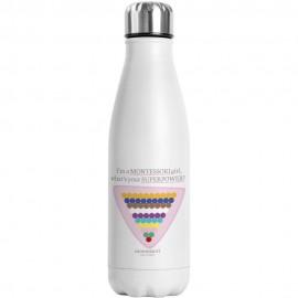 Botella de agua con logo