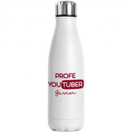 Botella de agua profesor Youtuber