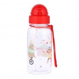 botella agua niños circo