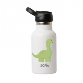 Botella dinosaurio 350ml