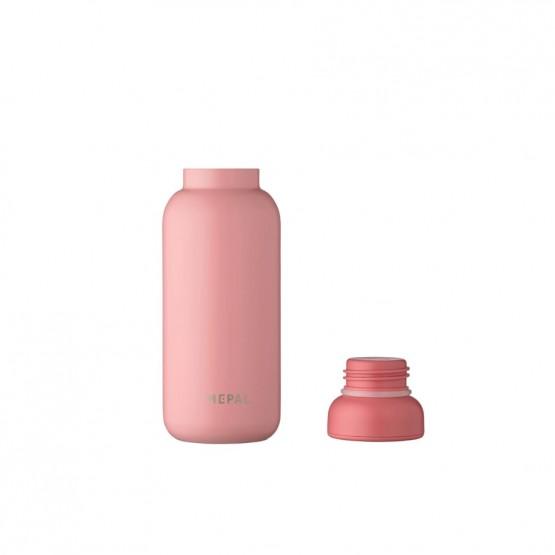 botella termica rosa