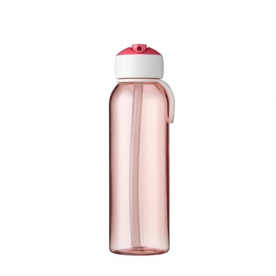 botella flip up rosa