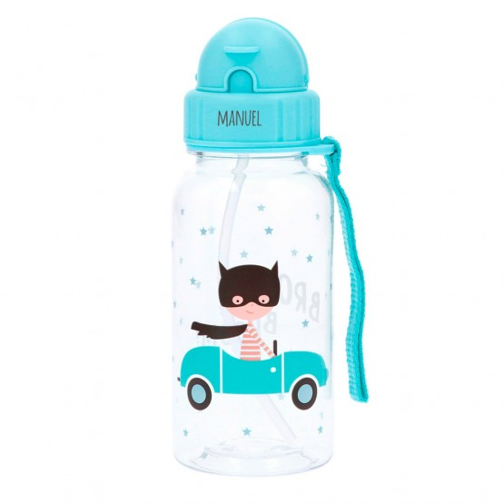 Botella guardería coches