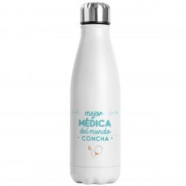 Botella térmica médico