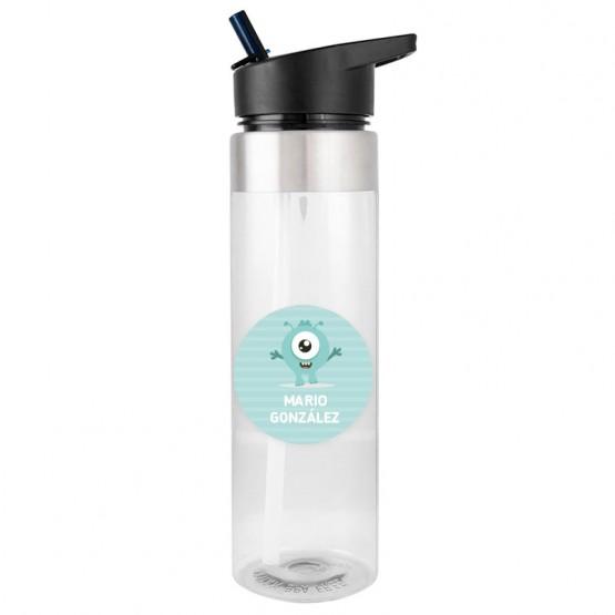 botella monstruo tritan para el agua