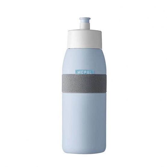botella sport azul