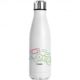 botella térmica videojuegos
