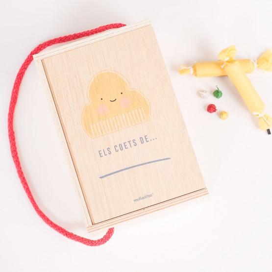 caja petardos para niñas