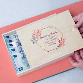 caja regalo dinero boda