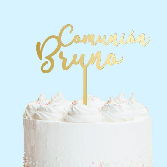 Adorno tarta Comunión Personalizado
