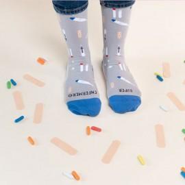 calcetines súper enfermera