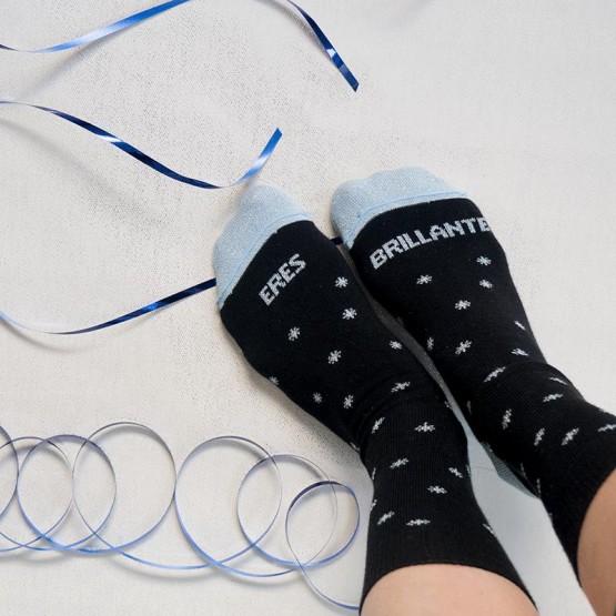 calcetines para amigas eres brillante