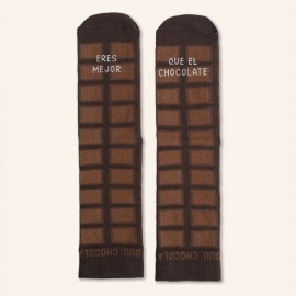 Calcetines chocolate