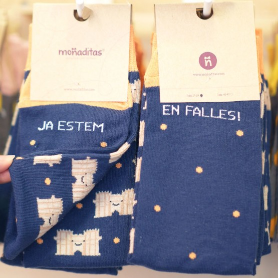 calcetines fallas