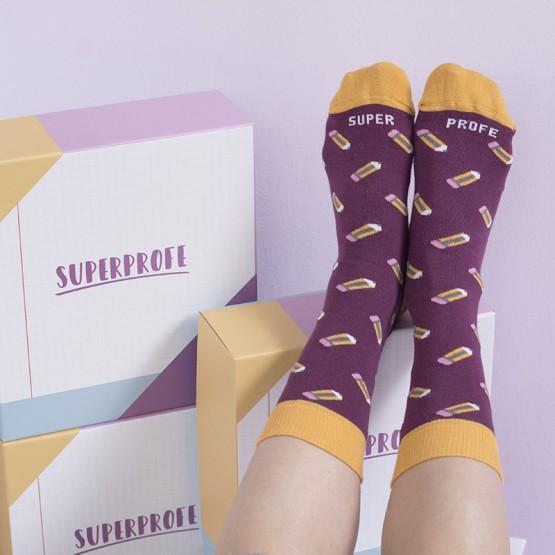 calcetines para maestras
