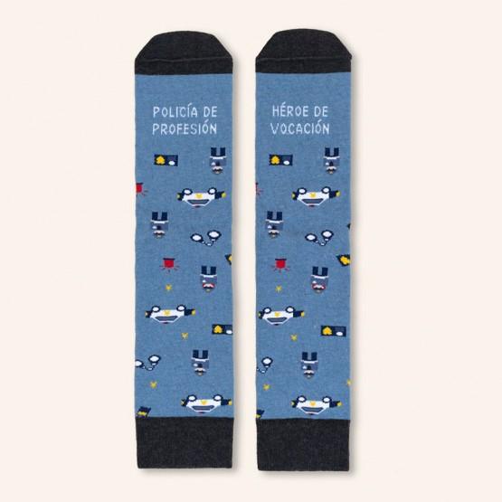 calcetines policía