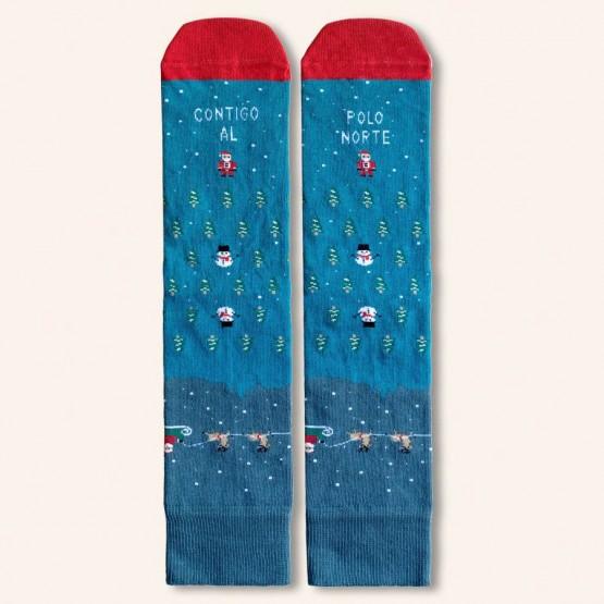 calcetines contigo al polo norte