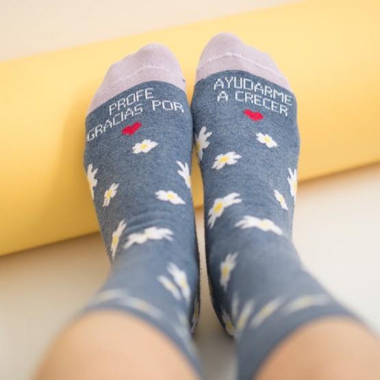 calcetines gracias profe