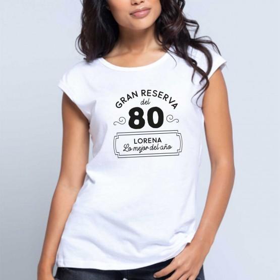 Camiseta cumpleaños gran reserva