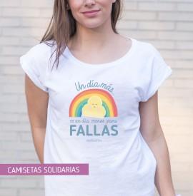 camiseta fallera arcoíris