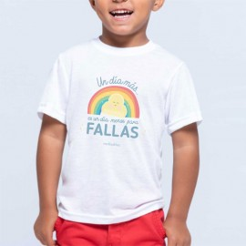 Camiseta fallera niños