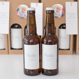 Cervezas personalizadas (pack 8 unidades)
