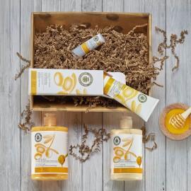 Cesta cosmética miel