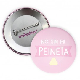 Chapa 'No sin mi peineta'