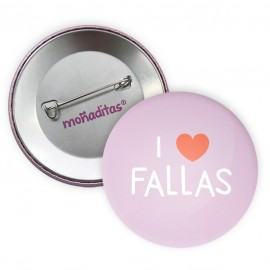 Chapa I love fallas
