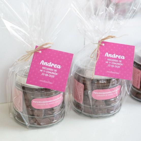chocolate regalo invitados comunión