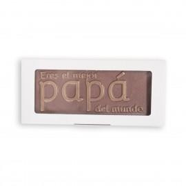 Chocolate mensaje mejor papá