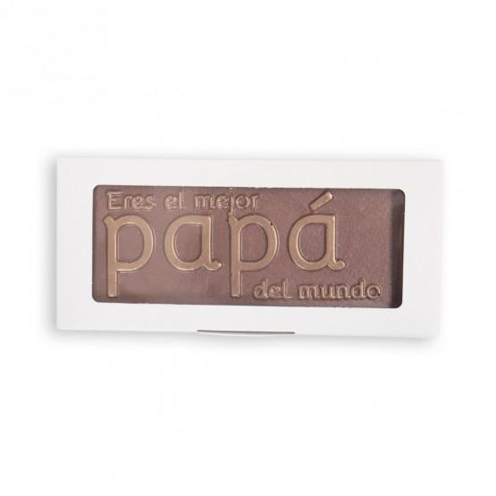 chocolate mensaje papá