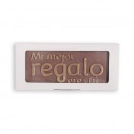 Chocolate mensaje regalo
