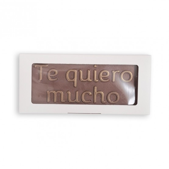 chocolate con mensaje utopick